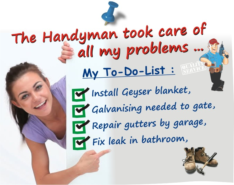 Email a handyman in Cape Town